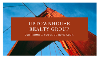 Bordered Real Estate Business Card