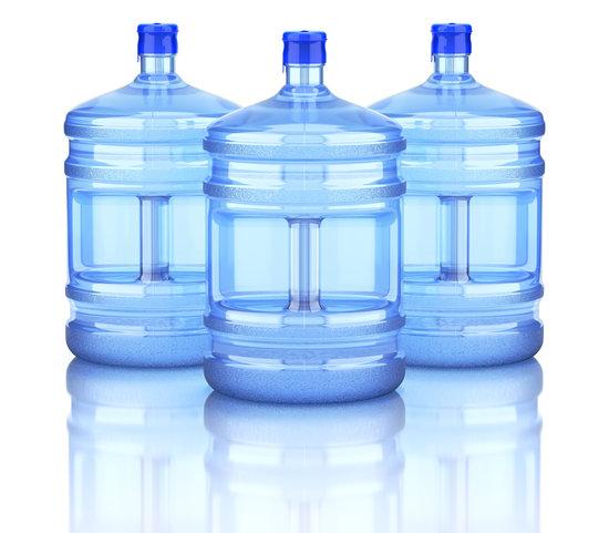 Plastic Dispenser Water Bottle