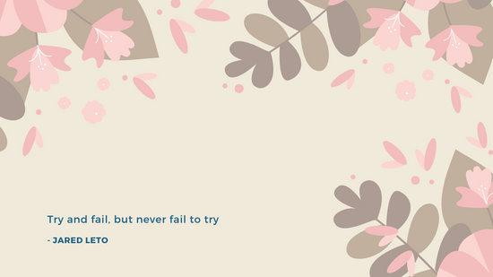 Floral Frame Desktop Wallpaper