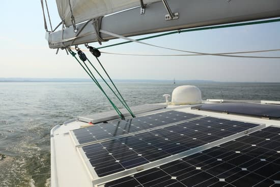How do Solar Panels Operate on a Boat?