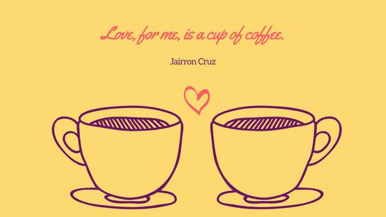 Coral and Mint Couple Coffee Mug Cute Desktop Wallpaper