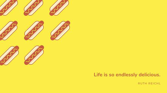 Yellow Funny Desktop Wallpaper