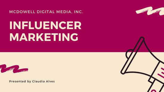 Pink Modern Social Media Marketing Creative Presentation