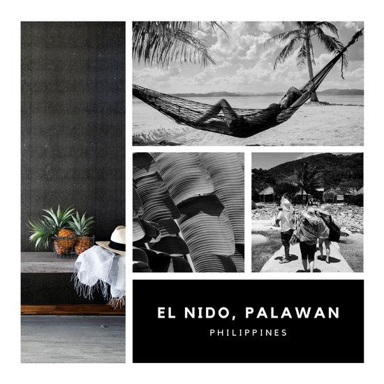 White & Black Minimalist Simple Photo Collage Instagram Post