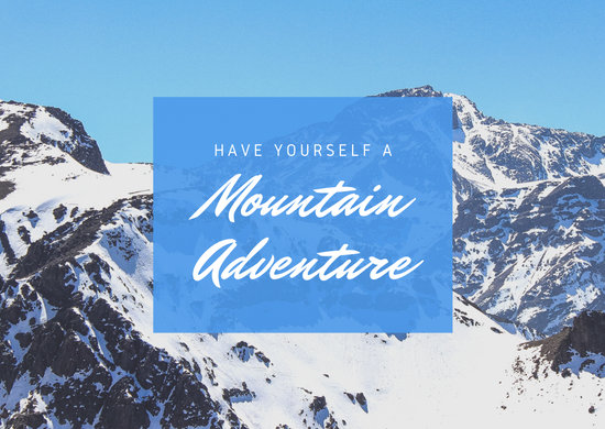 Blue Mountain Travel Direct Mail Postcard