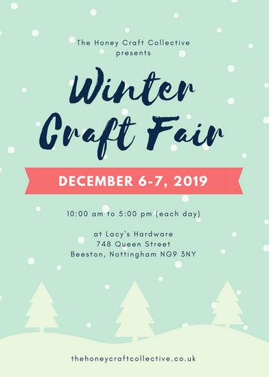 Holiday Craft Fair Flyer Template