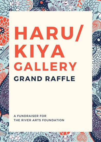 Blue Illustration Art Gallery Raffle Flyer  Templates By Canva