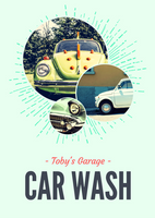Green Circle Carwash Flyer