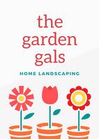 Orange Pots Flowers Girly Landscaping Home Flyer