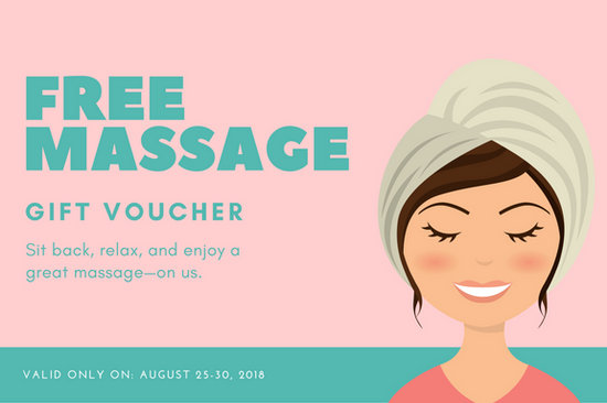 Masage Free Yelommyphonecompanyco - Free massage gift certificate template