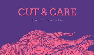 Pink purple hair salon business card templates by canva pink purple hair salon business card wajeb Images