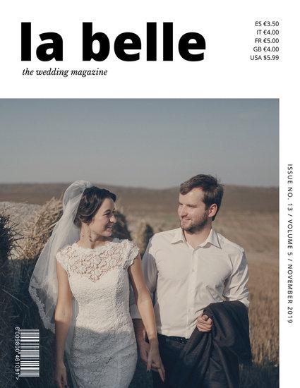 White and black simple wedding magazine cover templates by canva white and black simple wedding magazine cover junglespirit Images