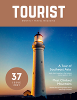 Brown Lighthouse Photo Travel Magazine