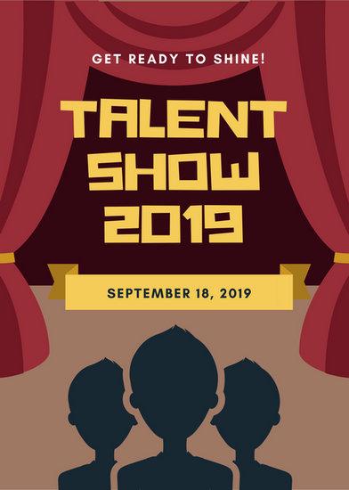 Free Talent Show Flyer Templates Geccetackletarts