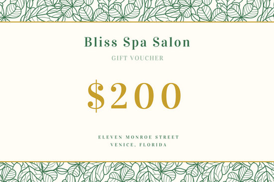 Green and gold spa gift certificate templates by canva yadclub Gallery