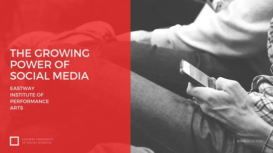 The Growing Power Of Social Media Presentation