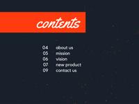 Orange Script Blue Texture Product Presentation