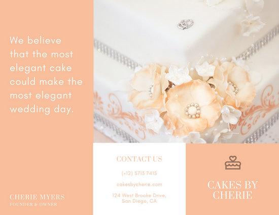 wedding brochure templates free