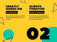 Yellow Black Turquoise Triangles Creative Presentation