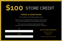 Black And Gold Snowflake Christmas Gift Certificate