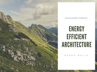 Green Photo Sustainable and Energy Efficient Architecture Presentation
