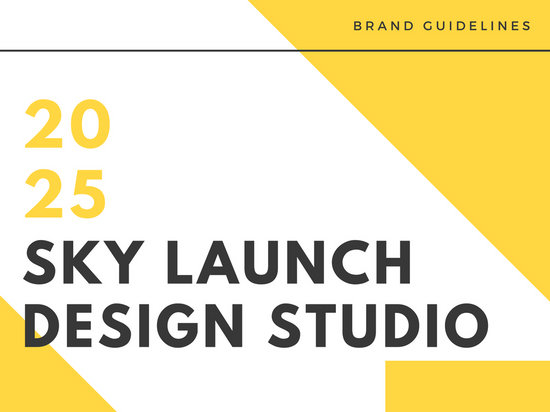 Yellow Blocks Brand Listing Presentation
