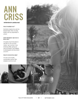 White Gold Luxury Gossip Magazine Template