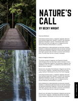 Black and White Box Travel Magazine