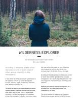 Simple Nordic Modern Travel Magazine