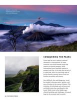 Yellow Border Mountains Photo Travel Magazine