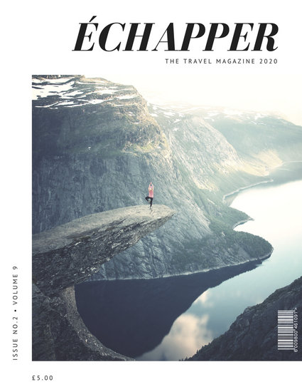 minimal mountains travel magazine