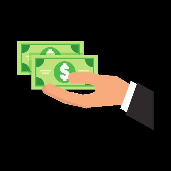 pagando dívidas para um plano financeiro