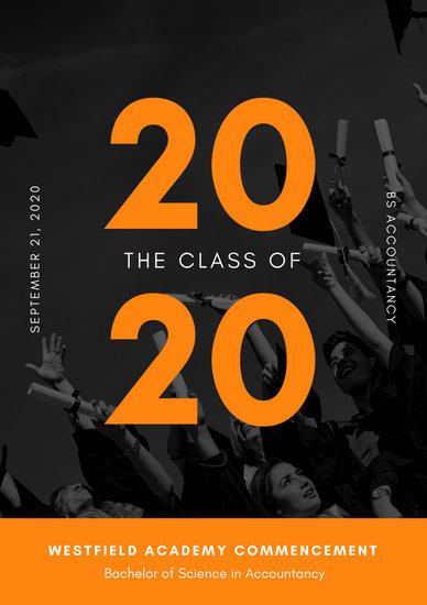 graduation program covers