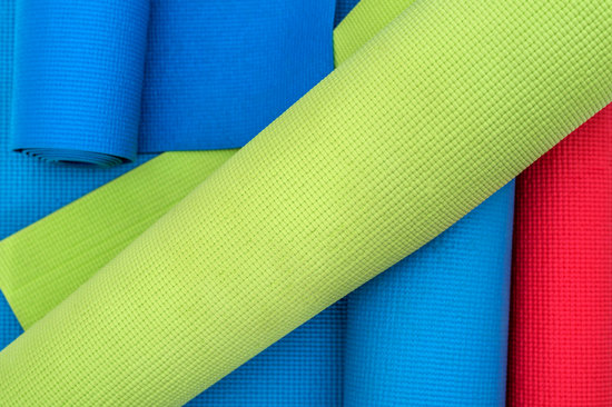Colorful Exercise Mats