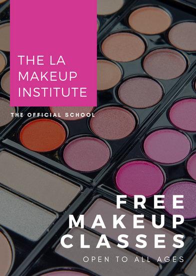Violet shape with eyeshadow photo makeup flyer templates by canva violet shape with eyeshadow photo makeup flyer saigontimesfo