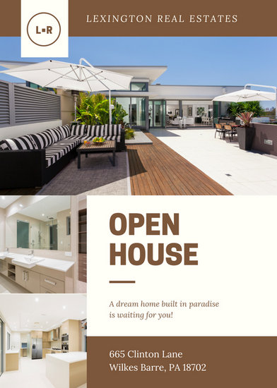 Open House Flyer. Open House Flyer Template Open House Flyer ...