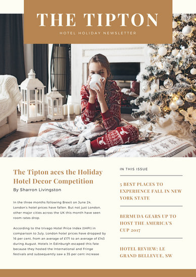 Cream and gold simple elegant hotel christmas newsletter templates cream and gold simple elegant hotel christmas newsletter spiritdancerdesigns Image collections