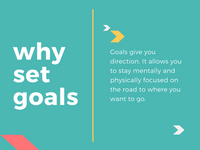Colorful  Creative Goal Setting Presentation