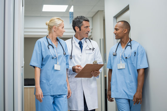 Doctor and Medical Staff