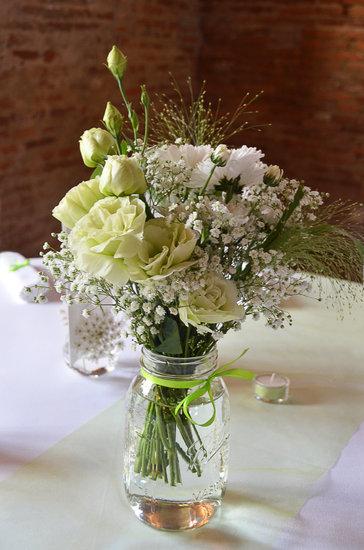 Flowers, Bouquet, White