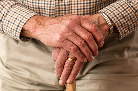 Hands, Walking Stick, Elderly, Old Person, Cane