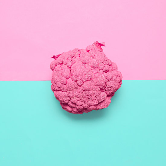 Pink Painted Cauliflower