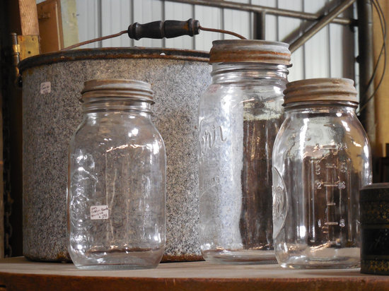 Glass, Jars, Food, Container, Natural, Organic, Table