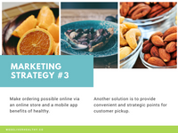 Colorful Healthy Food Marketing Plan Presentation
