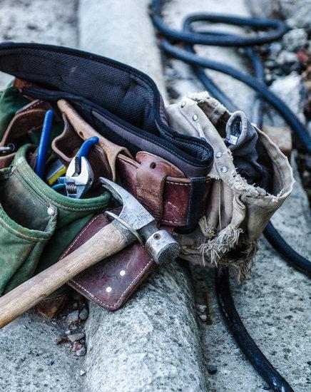Tools, Tool Belt, Belt, Work, Hammer, Equipment