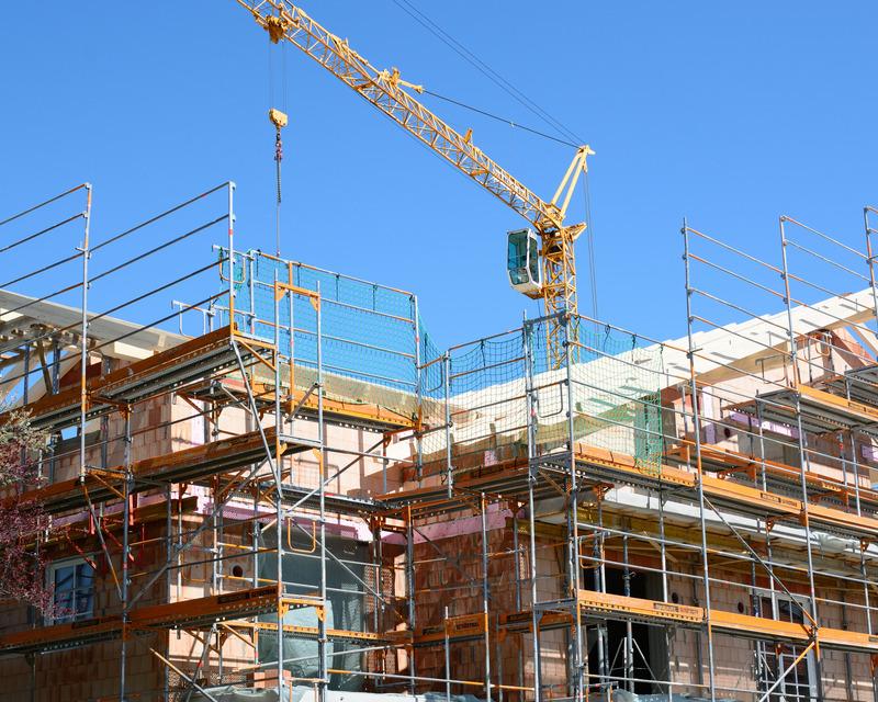 contratação na construção civil