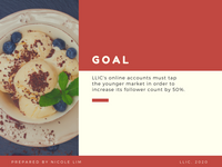 Red and White Minimal Social Media Strategy Presentation