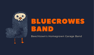 Blue Crow Band Business Card