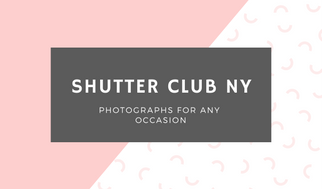 Pink White and Grey Diagonal Shape Photographic Business Card