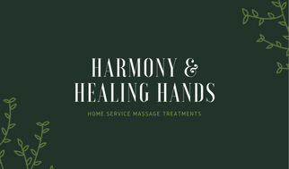 Green Vine Massage Therapist Business Card